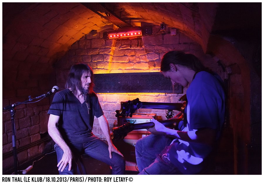 Ron Thal Bumblefoot; Guns'n Roses; Klub; Paris; 18 10 2013; photo: Roy Letayf
