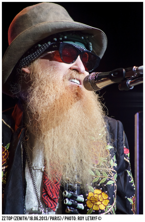 ZZ TOP; Billy Gibbons; Dusty Hill; Frank Beard; Zenith; Paris; France; 18 06 2013; photo: Roy Letayf