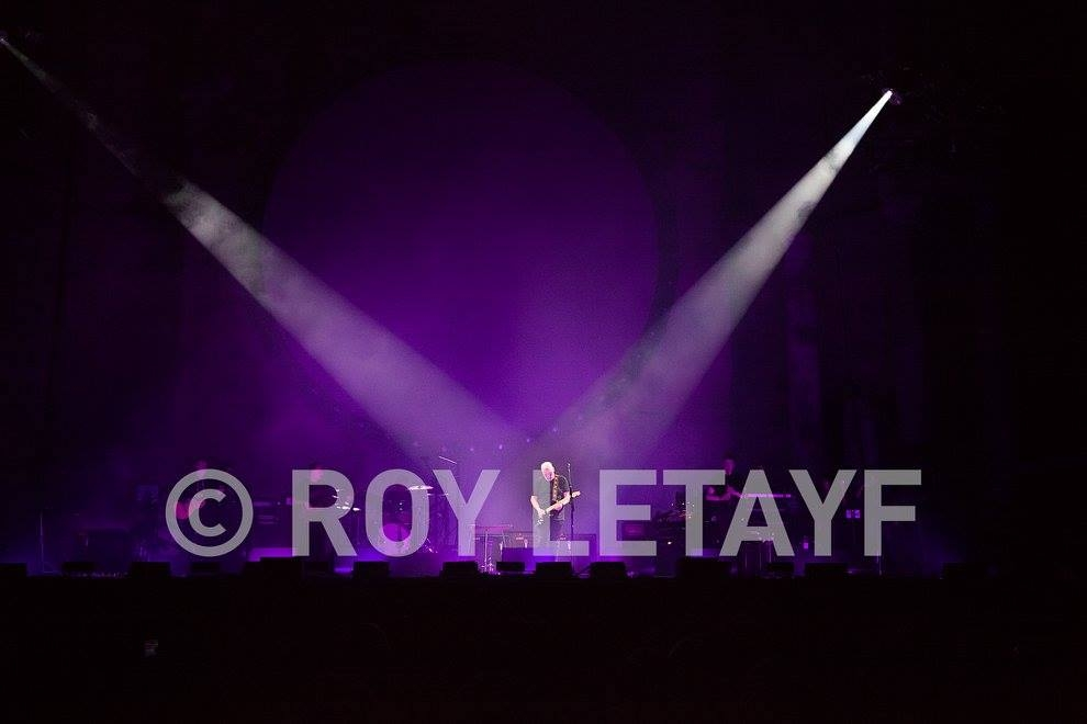David Gilmour, 17-09-2015, Théâtre Antique d'Orange